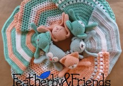 Crochet Lovey Pattern Mix Match Lovies A Lovey Pattern That Includes Options For 6