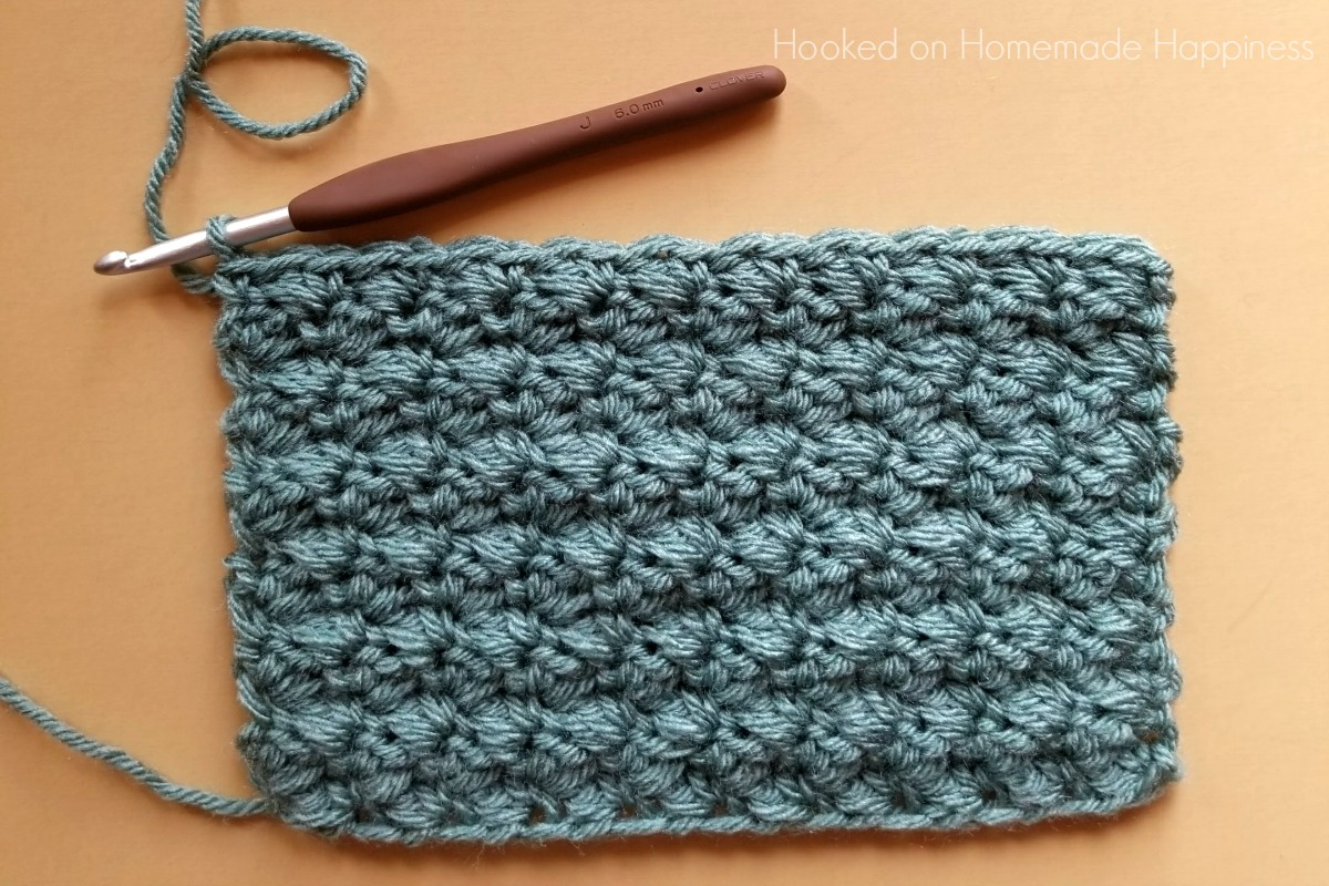 Crochet Stitch Pattern  How To Crochet The Suzette Stitch Hooked On Homemade Happiness