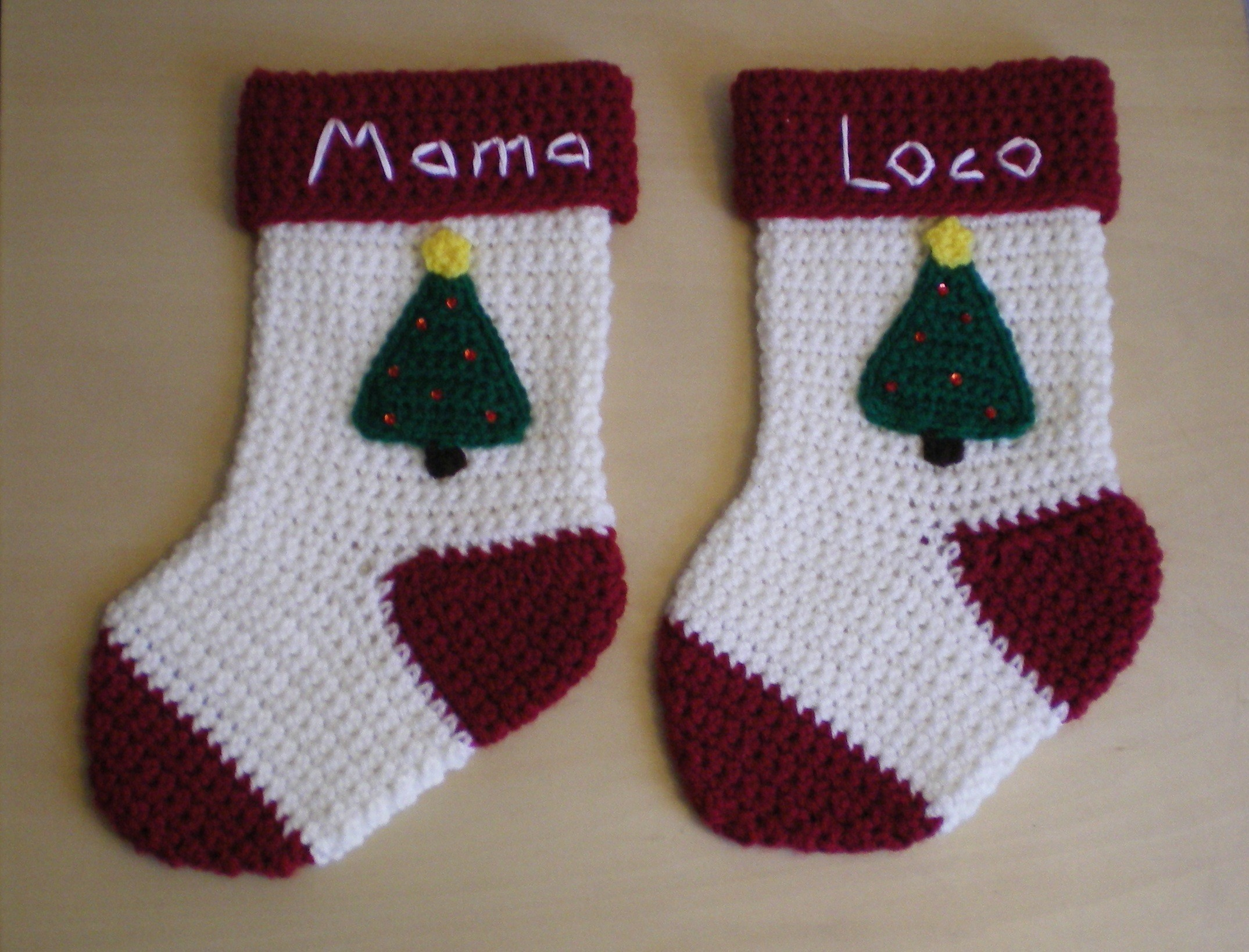 Crochet Stocking Pattern  Christmas Stocking Pattern Free Beautiful Free Crochet Pattern