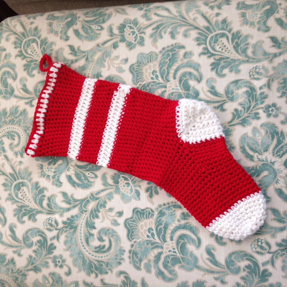Crochet Stocking Pattern  Crocheted Christmas Stocking Bjs Pet Projects
