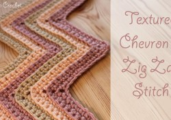 Crochet Zig Zag Pattern Crochet Textured Chevron Zig Zag Stitch Youtube