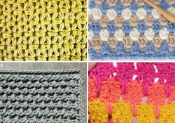 Different Crochet Stitches 30 Crochet Stitches For Blankets And Afghans Many With Video