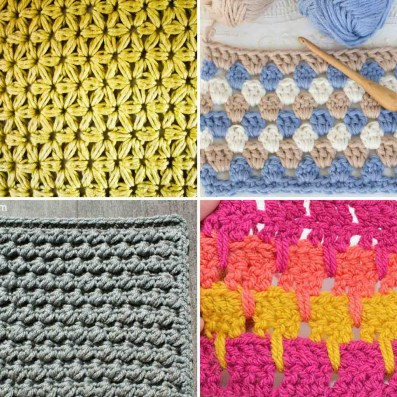 Best Image Of Different Crochet Stitches Mycrochetescom