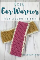 Ear Warmers Crochet Pattern Crochet Ear Warmer Pattern And Size Chart Stitching Together