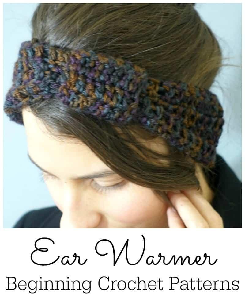 Ear Warmers Crochet Pattern Ear Warmer Crochet Patterns For Beginners Lw Vogue