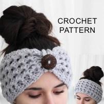 Ear Warmers Crochet Pattern Lida Headband Ear Warmer Crochet Pattern Pdf The Easy Design