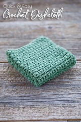 Easy Crochet Patterns Quick And Easy Crochet Dishcloth Pattern