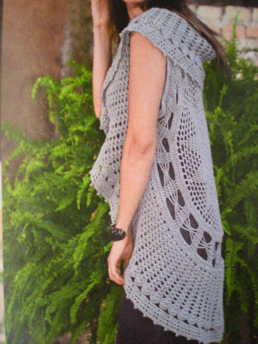 Free Crochet Jacket Pattern Designs for All Seasons Awesome Crochet Jacket Lots Gorgeous Free Patterns Circle Vest