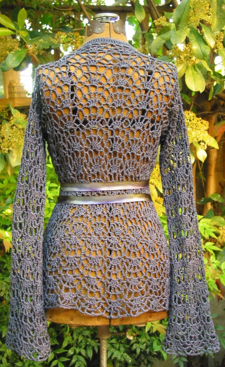 Free Crochet Jacket Pattern Designs for All Seasons Baroque Ladies Jacket Crochet Pattern