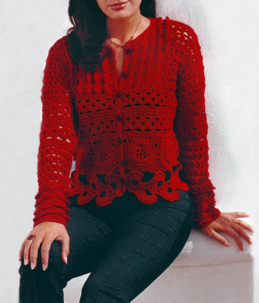 Free Crochet Jacket Pattern Designs for All Seasons Crochet Cardigan Pattern Crochet Jacket Pattern Warm Crochet