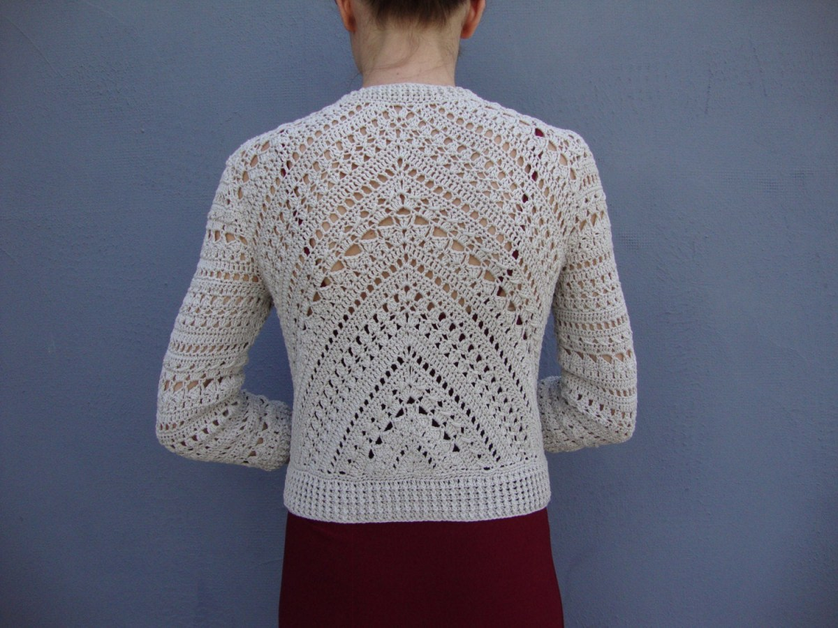 Free Crochet Jacket Pattern Designs for All Seasons Crochet Jacket Pattern Crochet Tutorial In English With Etsy
