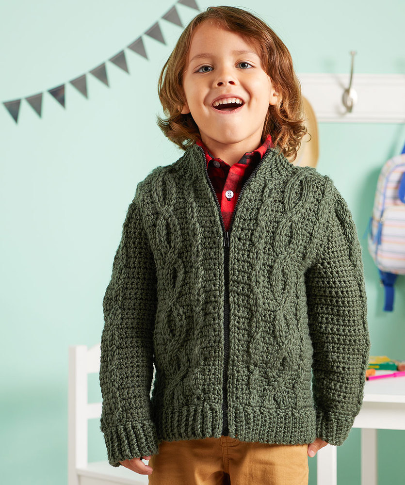 Free Crochet Jacket Pattern Designs for All Seasons Kids Crochet Jacket Pattern Archives Crochet Kingdom 4 Free
