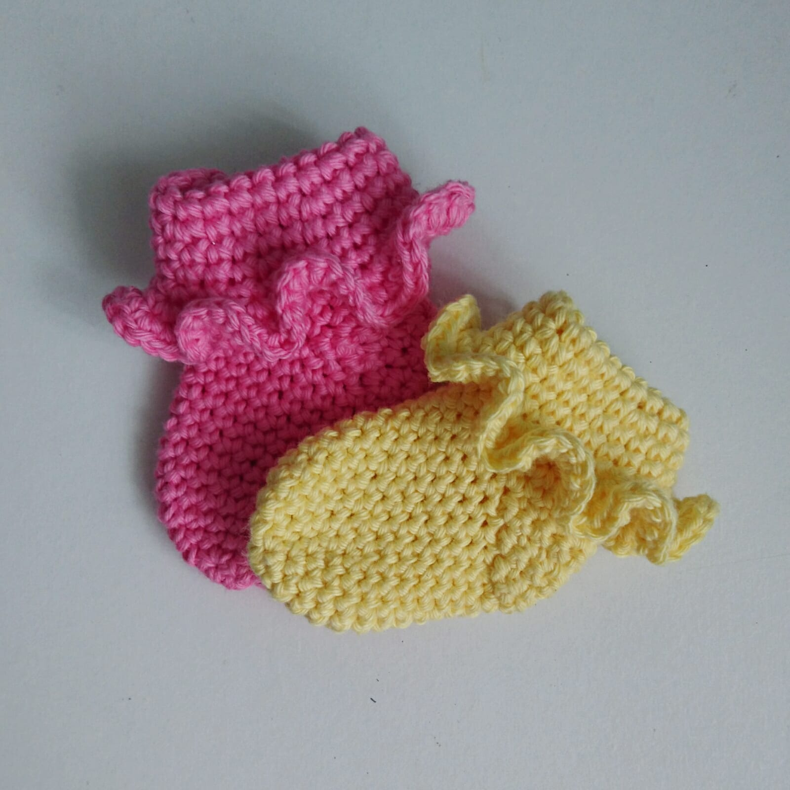 Free Crochet Patterns Newest Crochet Frilled Newborn Socks Free Crochet Pattern The Crochet Blog