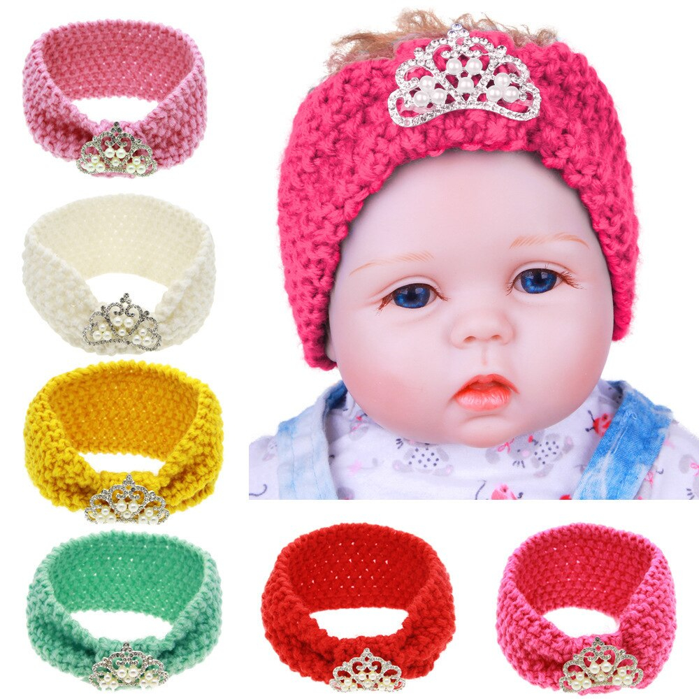 Lovely Headband Crochet Pattern for your hair accesories Crochet Pattern Autumn Headwrap Infant Ba Toddler Child Crown