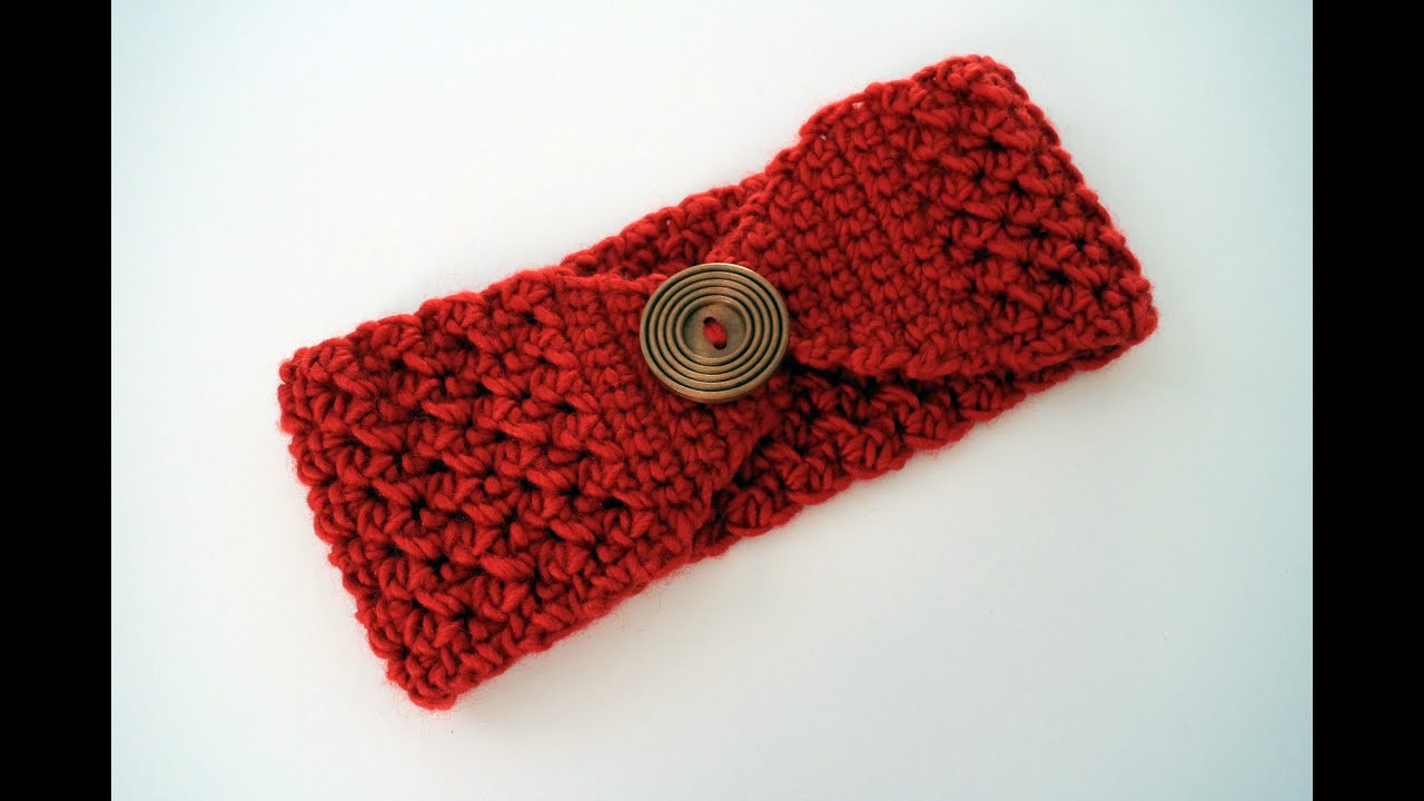 Lovely Headband Crochet Pattern for your hair accesories How To Crochet A Headband Youtube
