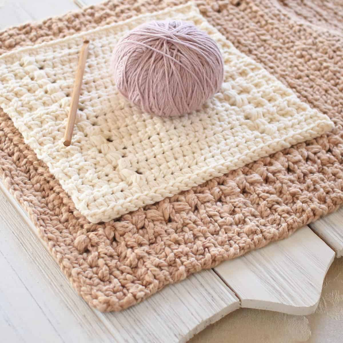 Quick and Simple Dish Cloth Crochet Pattern Rivers Edge Crochet Dishcloth Pattern And Matching Hand Towel