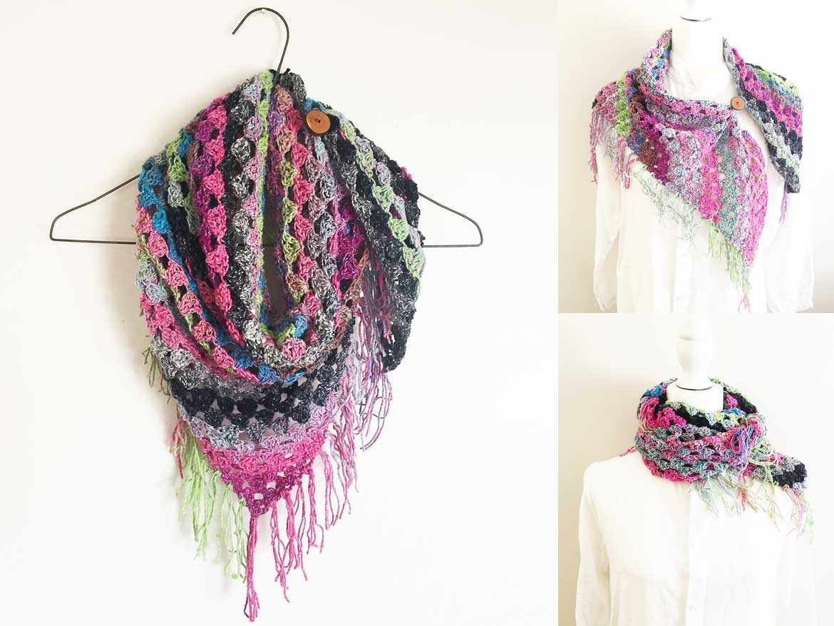 Scarf Crochet Pattern Free to Upgrade Your Winter Style How To Crochet A Noro Scarf Free Easy Pattern With Video Sew In
