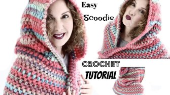 Scoodie Crochet Pattern Free Easy Vibrant Fall Scoodie Crochet Tutorial Youtube