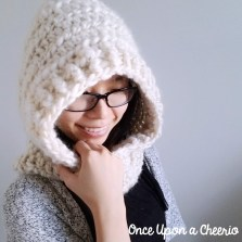 Scoodie Crochet Pattern Free Through Thick And Thin Hooded Scarf Scoodie Crochet Pattern Once
