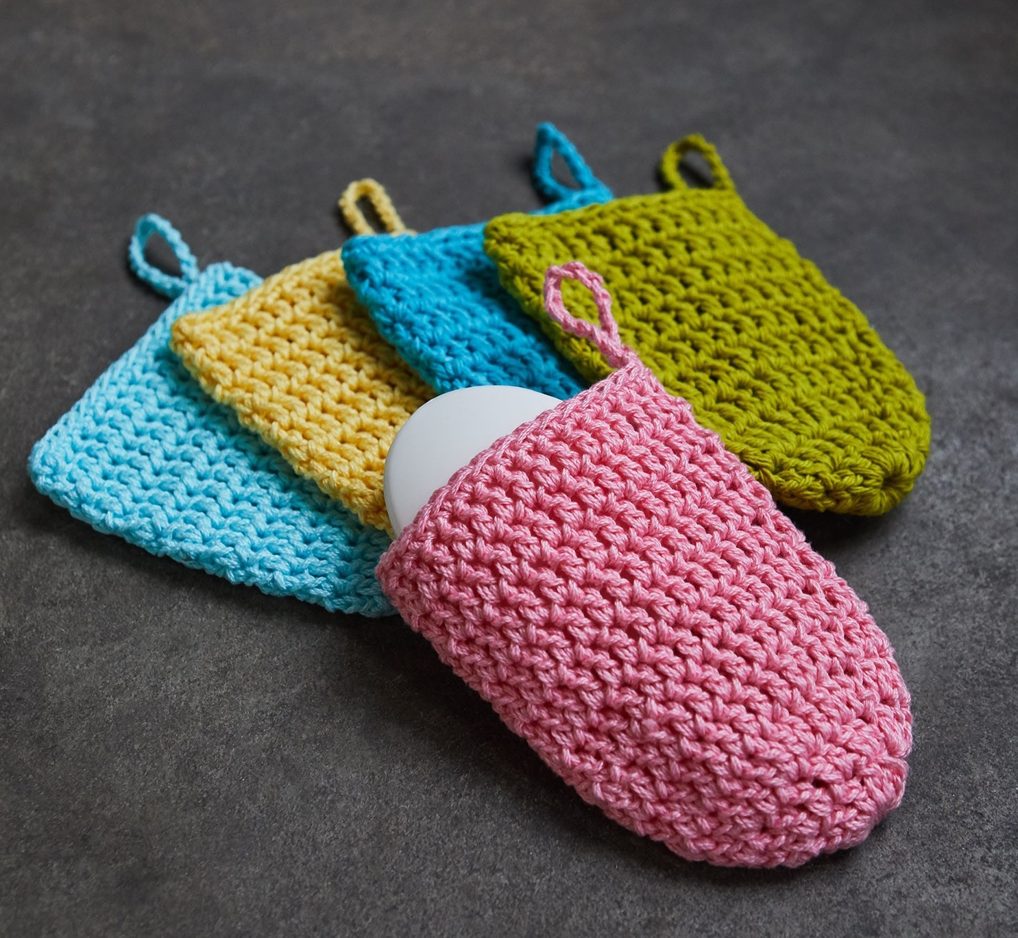 These Crochet Projects Ideas Will Blow Your Mind Charity Project Make A Soap Sack Lion Brand Notebook