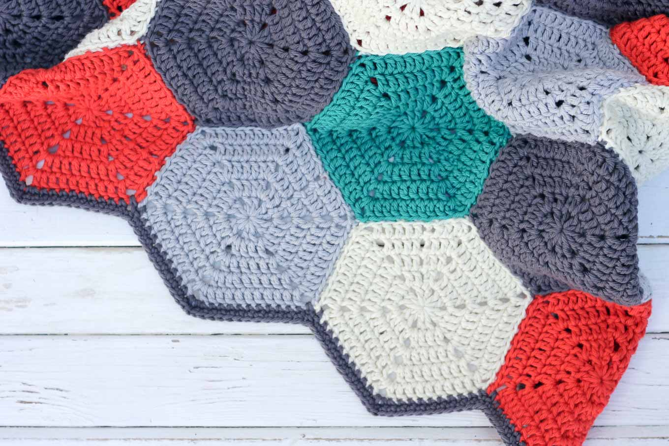 These Crochet Projects Ideas Will Blow Your Mind Happy Hexagons Free Crochet Afghan Pattern Make Do Crew