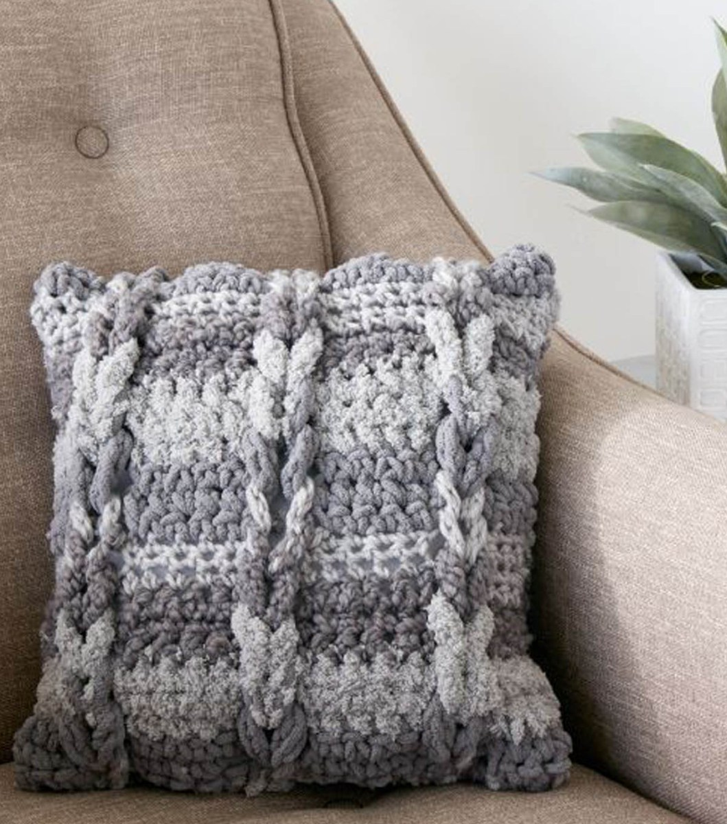 These Crochet Projects Ideas Will Blow Your Mind How To Crochet A Cable Pillow Joann