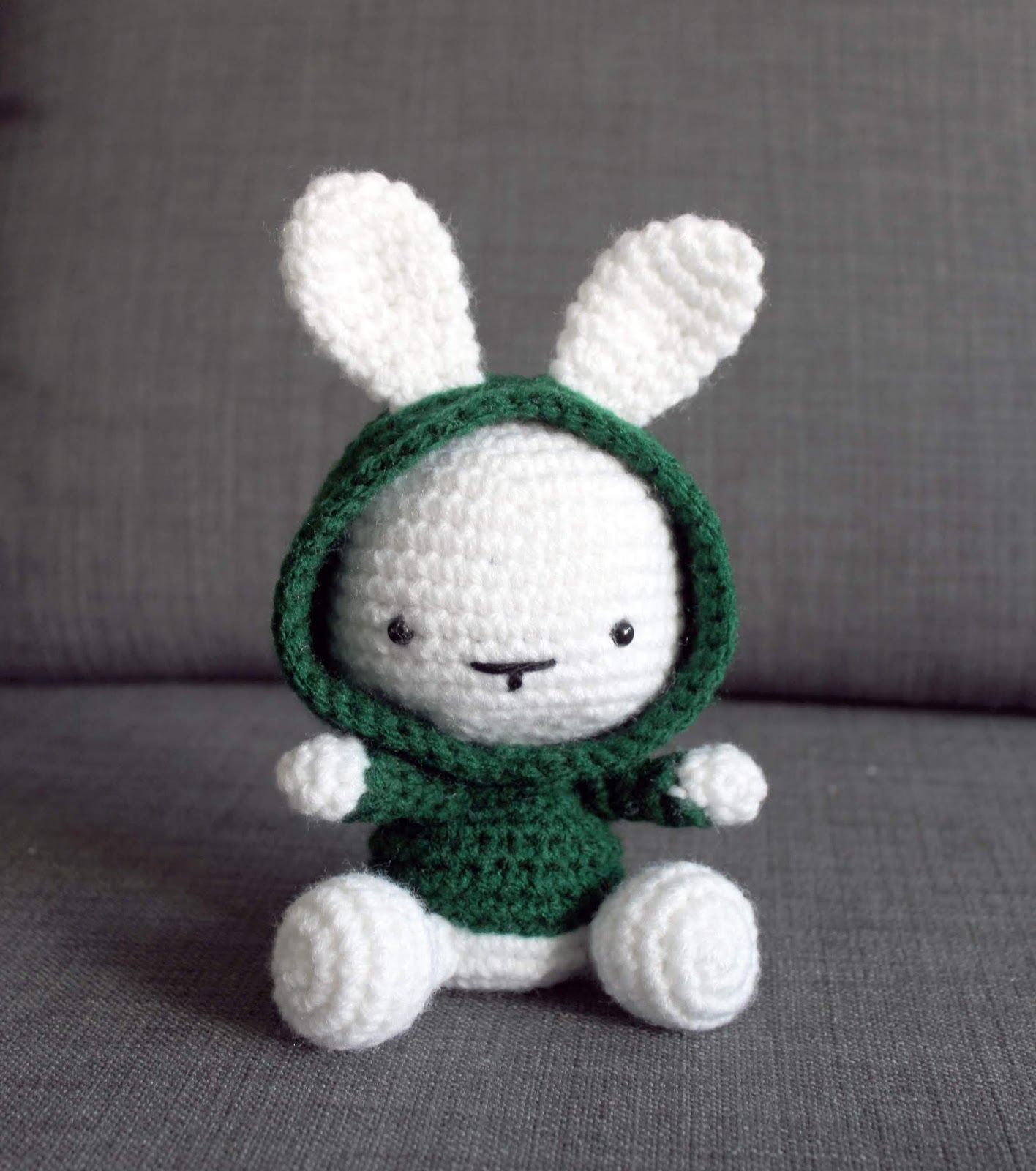Things To Crochet  Some Bunny In The Hood Crochet Pattern Once Upon A Cheerio