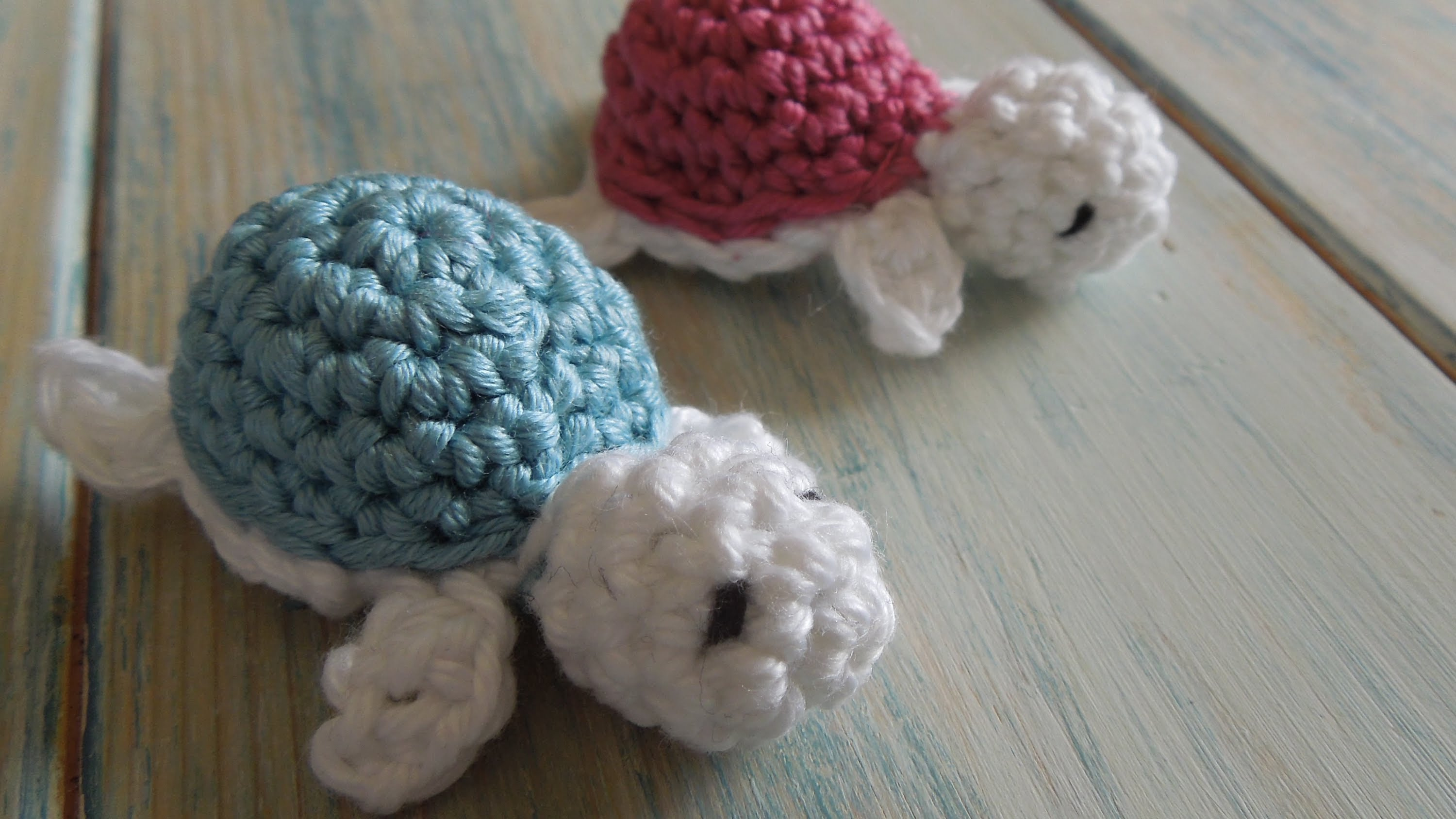 Things To Crochet  Video Tutorial These Crocheted Ba Turtles Are Way Too Cuteand