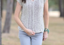 Top Crochet Top Pattern Easy to Make The Topcho Easy Crochet Shirt Pattern Mama In A Stitch
