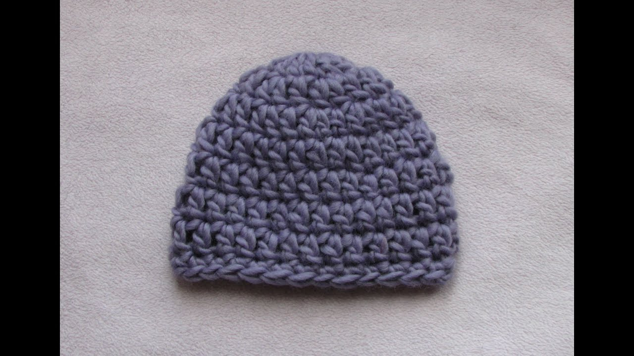 What You Should Know Before Proceeding Crochet Chunky Yarn Patterns Very Easy Crochet Chunky Ba Hat Tutorial 20 Minute Ba Hat
