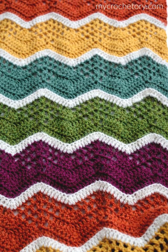 Havra crochet infinity scarf - MyCrochetory