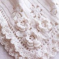 Beautiful crochet blanket for babies