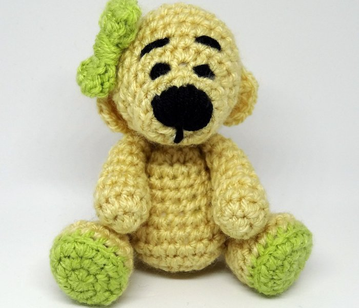 Subscribe and receive a free Katie Bear PDF pattern
