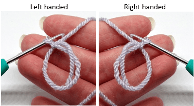 Instructions how to create a crochet magic adjustable ring