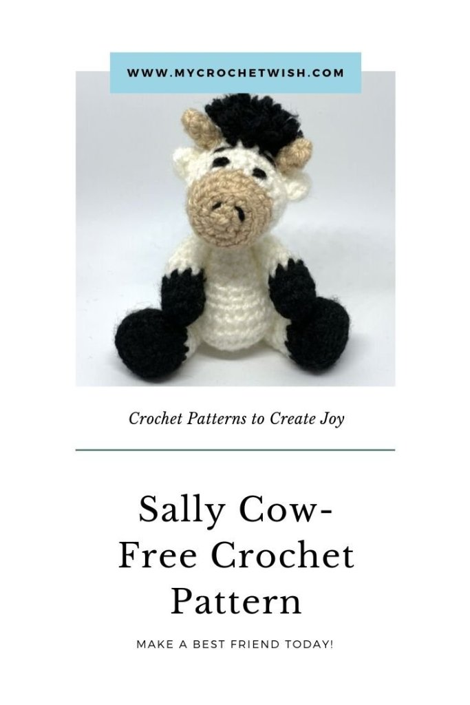 Sally Cow Free Amigurumi Crochet Pattern