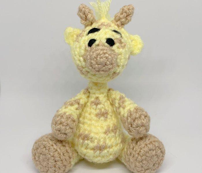 Gerry Giraffe Amigurumi Crochet Pattern