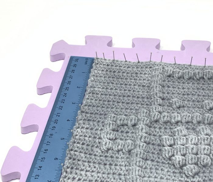 How to Block Your Crochet Project