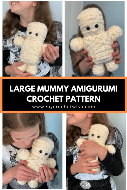 Large Mummy Free Crochet Pattern