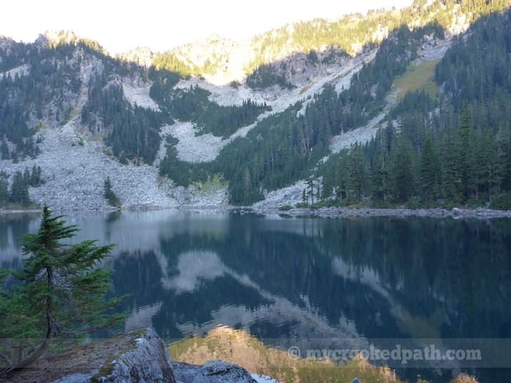 Morning breaks over Glacier Lake