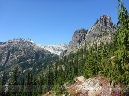 Mt. Daniel and Cathedral Rock