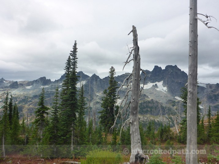 Lemah Mountain and Chimney Rock