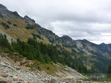 Back across the Traverse