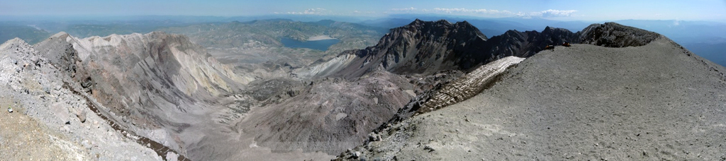 Pano from the rim