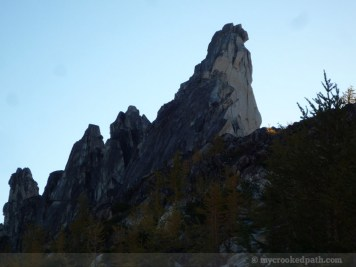 Prusik Peak, up close and personal