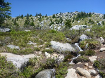 I wonder why they call this Granite Mountain ...