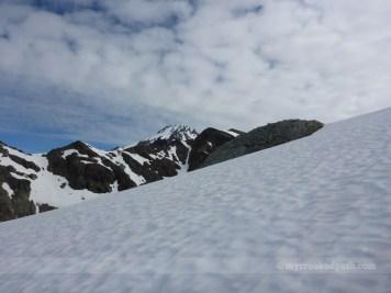 Blue skies over Glacier