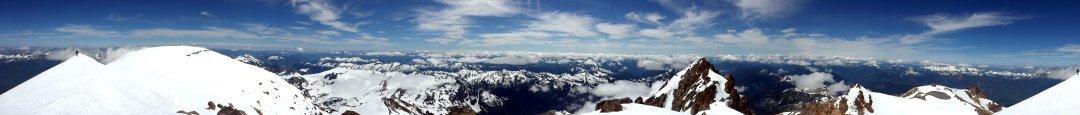 Glacier Peak Pano