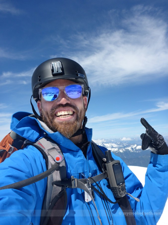 One last summit selfie