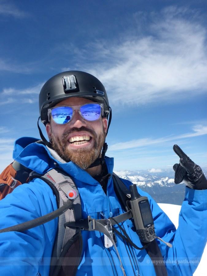 One last summit selfie