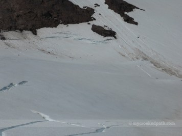 More cracks in the Cool Glacier